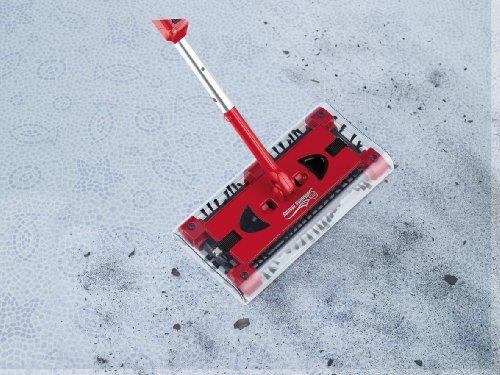 CLEANmaxx 07146 Swivel Sweeper G2 mit Ellenbogengelenk| Bodenkehrer | Akkubesen | Rot - 7