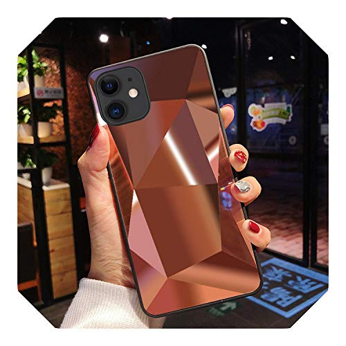 diamante 3D specchio copertura posteriore per iPhone 11 Pro Case per iPhone X XR XS Max 8 7 6 6S Plus caso Per iPhone se 2020 cover