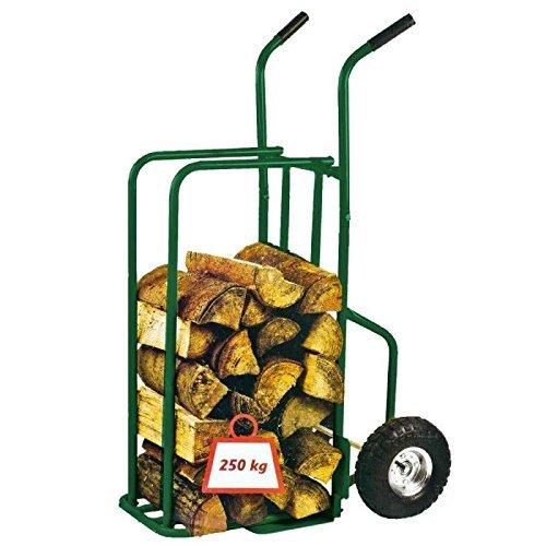 Toolland QT110 Sackkarre Für Holz, Maximal Last 250 kg, Grün