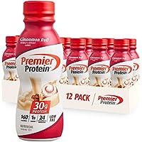 12-Pack Premier Protein Cinnamon Roll Shake, 11.5 Fl Oz