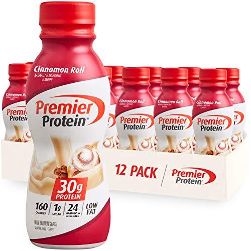 Premier Protein Shake, 30g Protein, 1g Sugar,24 Vitamins&Minerals Nutrients to Support Immune...
