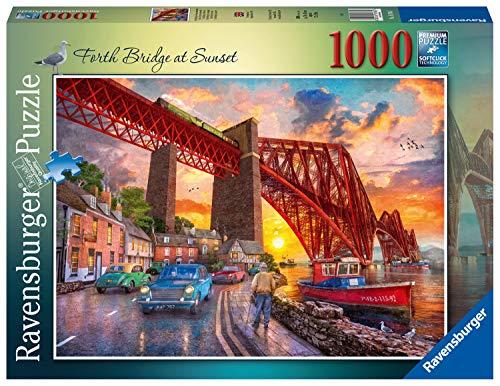 Ravensburger 16766 Forth Bridge at Sunset Puzzle für Erwachsene & Kinder ab 12 Jahren
