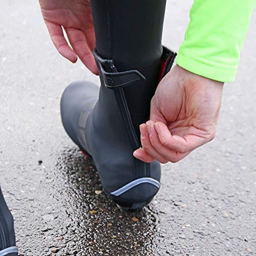 BBB Cycling Fahrrad, Mountainbike Schuhüberzug Überschuhe Hardwear, BWS-04, Schwarz, 37/38 - 5