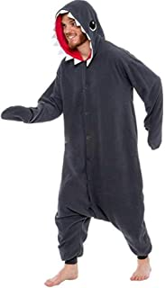Mono de Hombre de algod/ón de Manga Larga SLOUCHER c/ómodo Mono con Cierre de Cremallera y Capucha