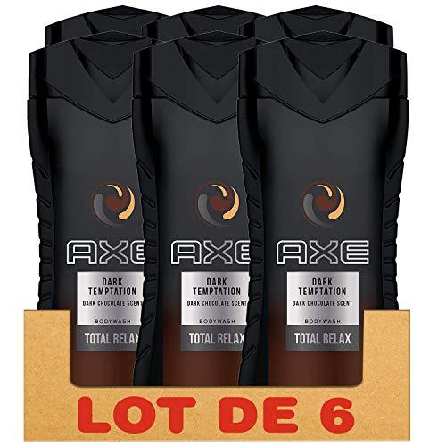 Axe Duschgel für Herren, Dark Temptation 250 ml, 6 Stück