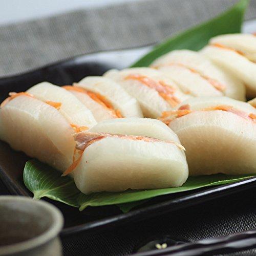 活彩 北海道 豊漁太鼓〜大根と鮭のはさみ漬 300g  漬物 / お漬け物 / つけもの / 浅漬け