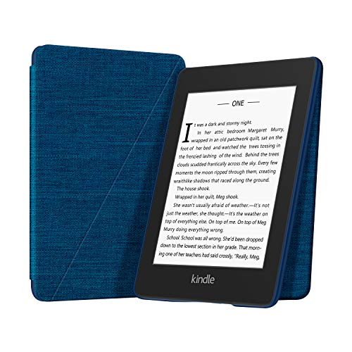 OLAIKE Funda Plegable de Tela Solo para Kindle (10a generación-2019), Funda para Soporte de Manos Libres con activación/suspensión automática, no Apta para Kindle Paperwhite décimo, Azul