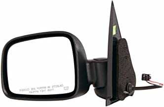 Gold Shrine Side Door Mirror Power Heated Replacement for Jeep Liberty 2002 2003 2004 2005 2006 2007 Driver Left Side LH