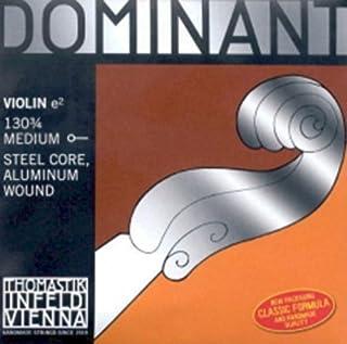 CUERDA VIOLIN - Thomastik (Dominant 130) (Nylon/Aluminio) 1ª (Mi) Medium Violin 3/4