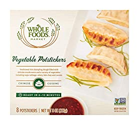 Whole Foods Market, Vegetable Potstickers, 8 ct, (Frozen)