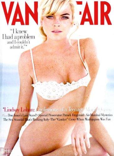 Vanity Fair Magazine - February 2006 - Lindsay Lohan Cover