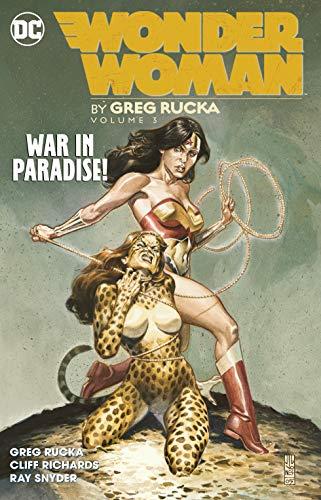 Wonder Woman War in Paradise!