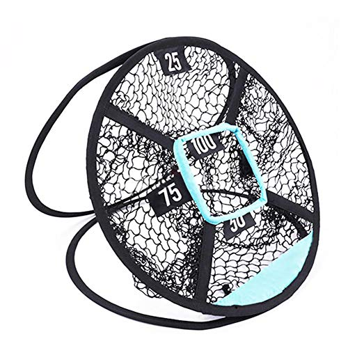 Luckything Golf Chipping net / oefennet Golf Oefennet rijden chipping net quad indoor outdoor tuin golfnet draagbare set voor dames heren kinderen