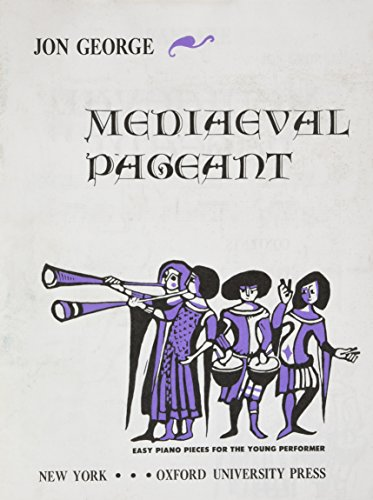 Medieval Pageant: piano collection