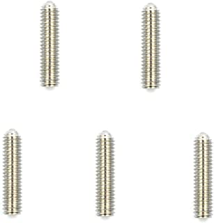 HONJIE 12mm Ball Hex Socket M3 Stainless Steel Spring Hex Socket Ball Point Grub Set Screws Plunger-5pcs