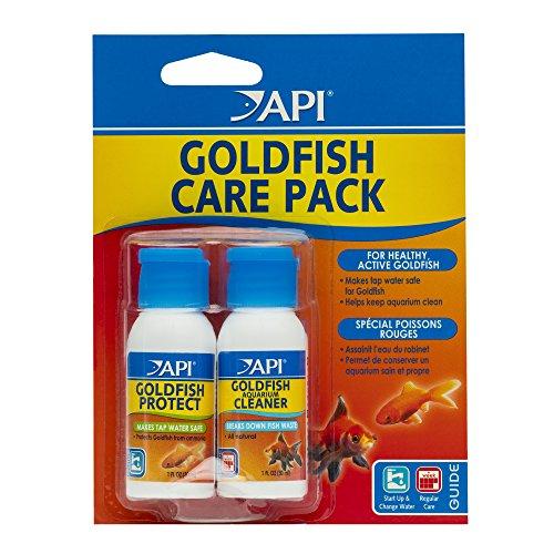 API GOLDFISH CARE PACK Aquarium Water Conditioner 1.0-Fluid Ounce Bottle