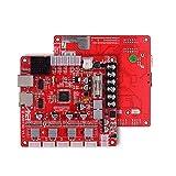 Aibecy Anet A1284-Base V1.7 Placa base de la placa base Placa base para Anet A8 Plus DIY Auto ensamblaje Impresora de escritorio 3D Kit RepRap i3 Suministros de actualización 24V
