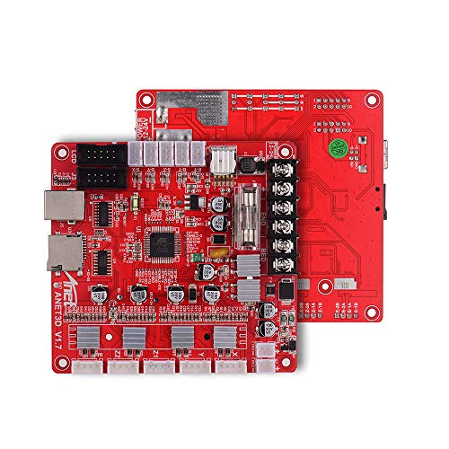 Aibecy Anet A1284-Base V1.7 Base Control Board Mother Board Mainboard for Anet A8 Plus DIY Self Assembly 3D Desktop Printer RepRap i3 Kit Upgrade Supplies 24V for Anet A8 Plus
