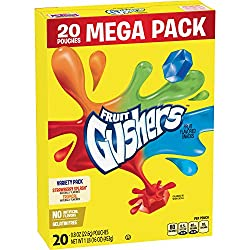 Gushers Strawberry Splash and Tropical Flavors, 20 ct