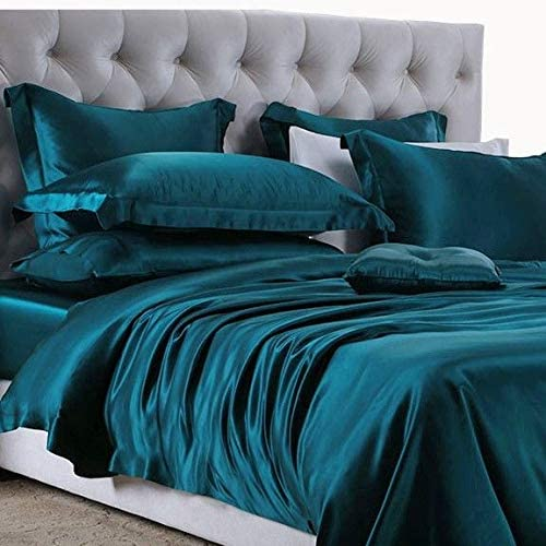 Roch 100%品質保証 Linen Silk Satin Luxurious 卓抜 Comforter Box - G 300 Stitched