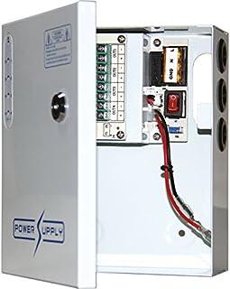 PWU0412W05 DOSS 4 Way 12V DC 5A Power Supply with UPS PFC Surge Protection Universal Ac Input Range: 96-264Vac Universal A...