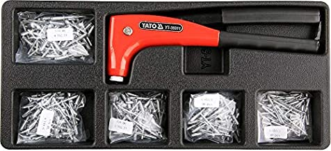 Yato Drawer Insert With Hand Riveter and Rivets 6pcs YT-55466