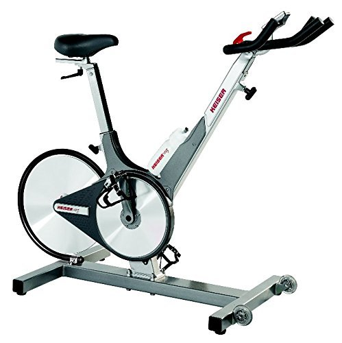 With Computer Keiser M3 Indoor Cycle Stationary Indoor Trainer Exercise Bike (Renewed)