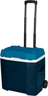 Igloo Profile 30 Quart Roller - Blue/White/Teal, Blue, N/A