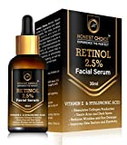 HONEST CHOICE Retinol Serum for face Blended With Vitamin C And Vitamin E, Glycolic Acid | Anti Aging Serum | Sun Protection | face serum for glowing skin 30 ml moisturizer for face women May, 2021