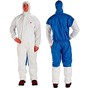 3M Disposable Protective Coverall Safety Work Wear 4535-XXL 4535-XXL