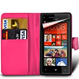 For HTC Desire 650 - MobiBax Prime PU Leather Wallet Flip