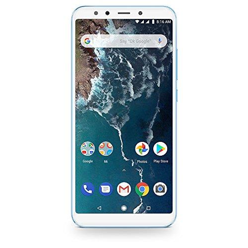 """Xiaomi Mi A2 EU - Smartphone de 5.99"""" (Qualcomm Snapdragon, RAM de 6 GB, memoria de 128 GB, cámara dual de 12+20 MP, Android) color azul [versión española]"""