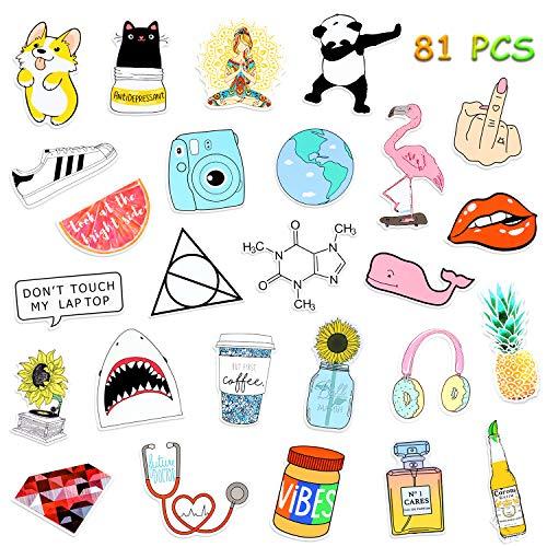 Etitulaire 50 Pcs Graffiti Autocollant en Vinyle Al/éatoire Stickers Autocollant pour Voiture,Moto,Mac,Enfant Ordinateur Portable,V/élo,Valise,Auto,Skate,Skateboard,Guitare