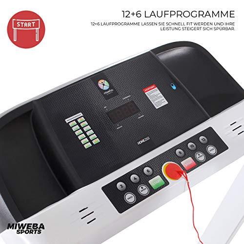 HT1500 Miweba Sports Sieger Laufband unter 500 Euro Bild 3*