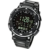 LAD WEATHER Smart Gear 2 Smartwatch for iPhone and Android Calls SMS Emails Notification Remote Camera Pedometer Sleep Monitor