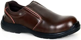 SAFETY SHOES EXECUTIVE BROWN-RUQ - Vaultex