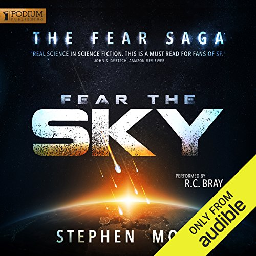 Fear the Sky audiobook cover art