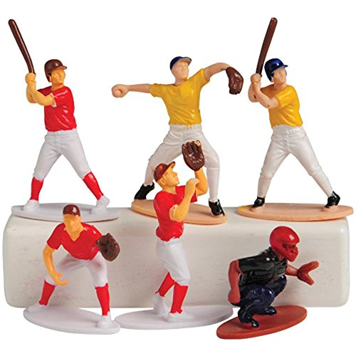 US Toy Baseball Toy Figures (Set of 12)