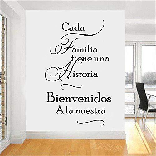 yaonuli muurtattoo, Spaanse markt, welkom in onze woonkamer, vinyl