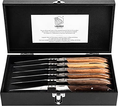 Cuchillos Carne Laguiole cuchillos carne  Marca Laguiole Style de Vie