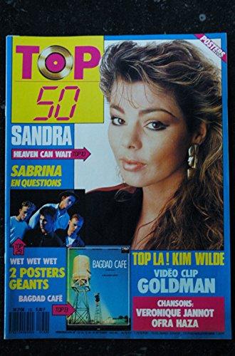 TOP 50 132 N° 132 SANDRA SABRINA WET WET WET BAGDAD CAFE KIM WILDE GOLDMAN