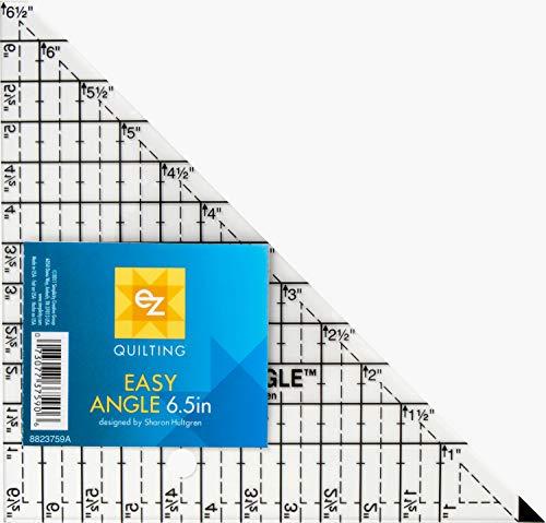 EZ Quilting - Sagoma per traingolo, Easy Angle, 16,5 cm