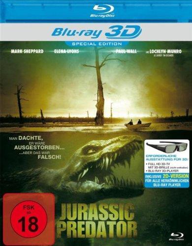 Jurassic Predator (Real 3D-Edition) (Blu-ray) [Alemania] [Blu-ray]