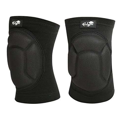 Bodyprox Protective Knee Pads, Thick Sponge Anti-Slip, Collision Avoidance Knee Sleeve (Large)