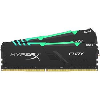 HyperX Fury HX432C16FB3AK2/32 Memoria DIMM DDR4, 32 GB, (Kit 2x16 GB) 3200 MHz, CL16 RGB