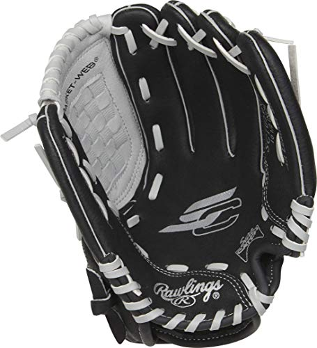 Rawlings Sure Catch Series Youth Baseball Glove, Basket Web, 10.5 inch, Right Hand Throw New Hampshire