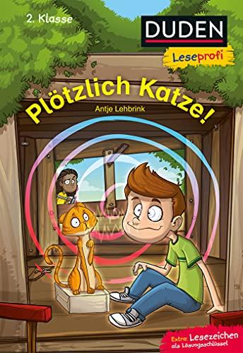 Duden Leseprofi – Plötzlich Katze!, 2. Klasse: Kinderbuch für Erstleser ab 7 Jahren (Lesen lernen 2. Klasse, Band 28)