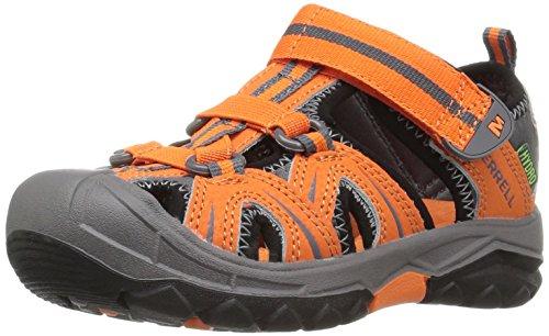 Merrell Merrell Jungen Hydro Aqua Schuhe, Mehrfarbig (Orange/Grey), 37 EU