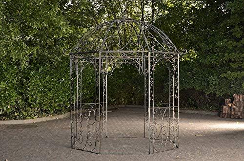 CLP Rosenpavillon Leila I Rankpavillion Aus Pulverbeschichtetem Eisen I Gartendekoration Im Jugendsstil, Farbe:Bronze