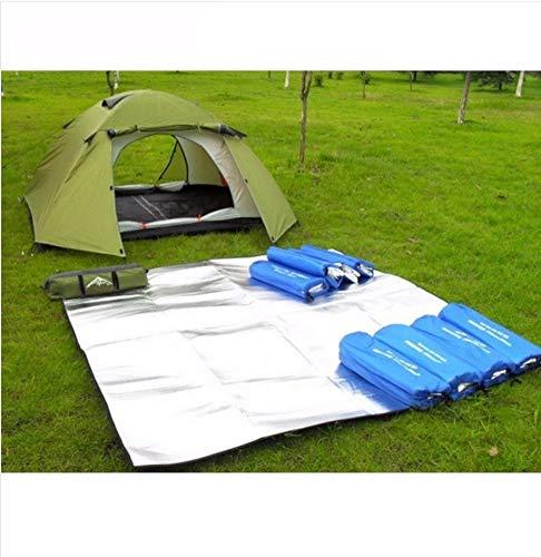 Vanzelu Ultralight Outdoor Camping Mat Strand Picknick Mat Waterdichte Tent Grondzeil Yoga Deken Baby Kruipend Mat Waterdichte Strand Mat Matrassen 200x150cm